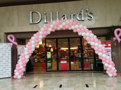 Breast Cancer Event Balloon Arch