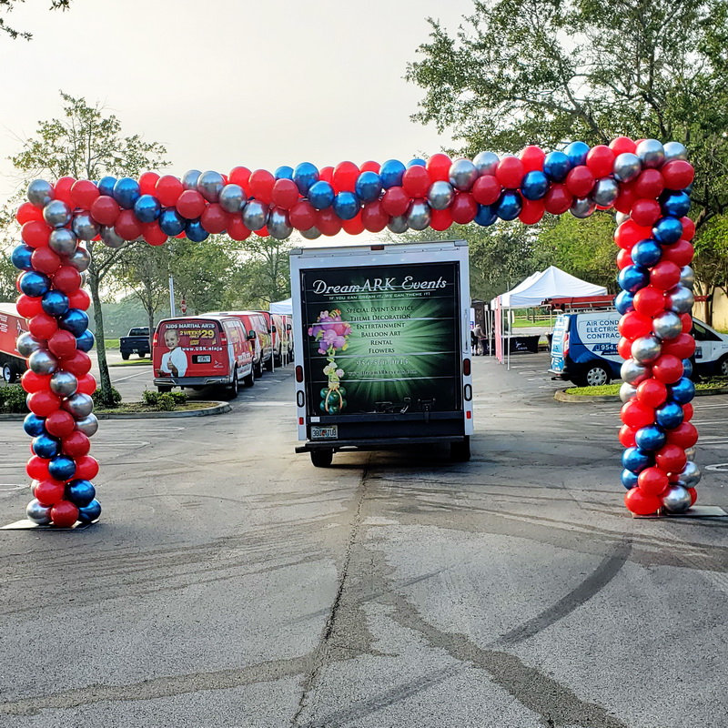 Graduation Oversize Balloon Arch