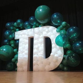 3D Huge Balloon Letters