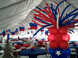 Forth of July Theme Event Decoration