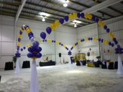 Dance floor decoration
