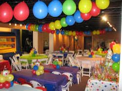 Ceiling Balloon Garland