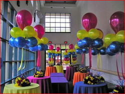 Big Centerpiece With Balloons