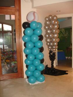 Basketball Balloon Columns