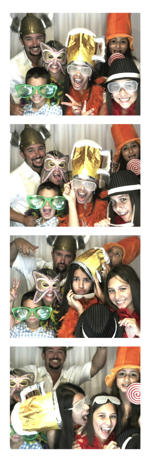 Wedding rental photo booth