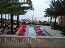 Red Carpet Event Decoration