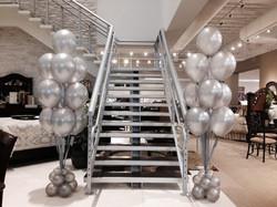 Chrome Silver Balloon Bouquets