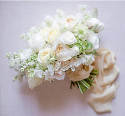 Spring Bridal Bouquet With Lilac