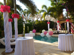 Swimming Pool Party Decoration