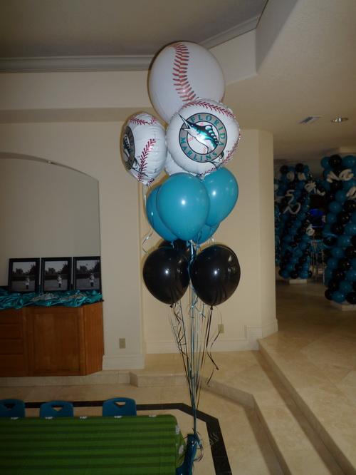 Marlins Baseball Themed Party