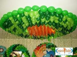 Helium Balloons & Ribbons