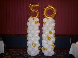 50 Balloon Columns