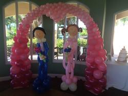 Balloon arch & Balloon Sculptures