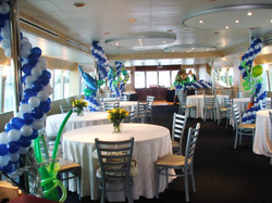 Boat Decoration With Balloons