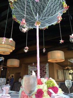 Baby Shower Decoration with Balloons & Flowers