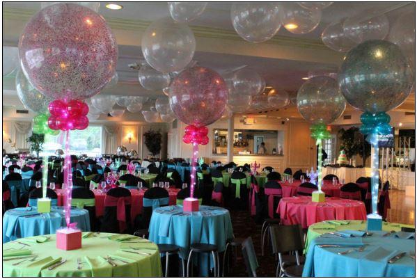 Confetti Huge Balloons & Lights