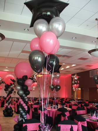 Sweet Sixteen Event Decoration