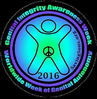 GIAW 2016, Genital Integrity Awareness Week 2016, Worldwide Week of Genital Autonomy