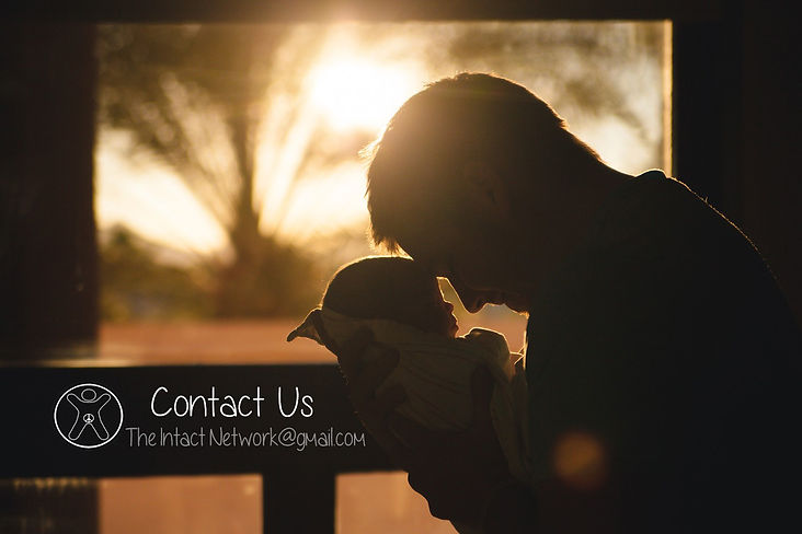 Contact The Intact Network for questions on circumcision or intact care.