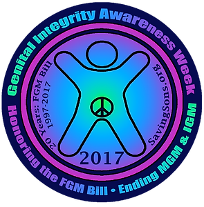GIAW 2017, Genital Integrity Awareness Week, FGM Bill, 20 Years Female Genital Mutilation Bill