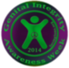 GIAW 2014 Genital Integrity Awarenes Week 2014
