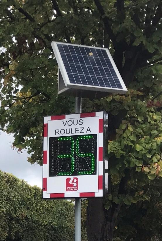 Radar de Vitesse Pédagogique