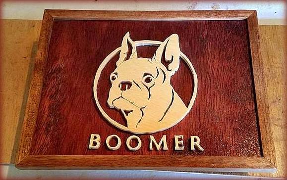 Custom Dog Plaque