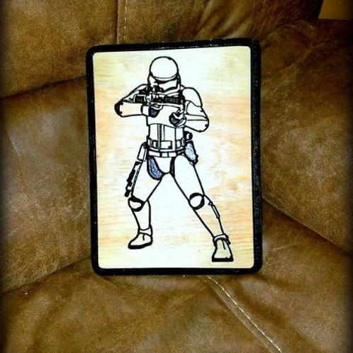 Star Wars Storm Trooper Plaque II