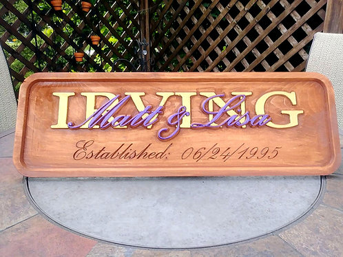 Multi-Layer Family Established Sign