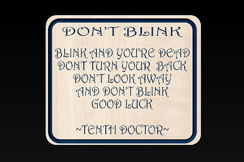 Doctor Who - Don't Blink!