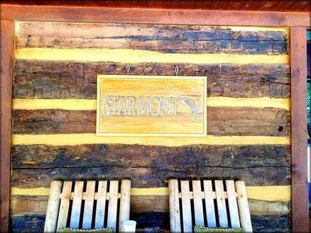Starmont House Sign