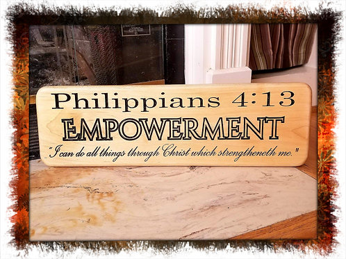 Philippians 4:13, I Can Do All Things Through Christ Which Strengtheneth Me