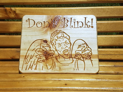 Doctor Who - Weeping Angel Plaque