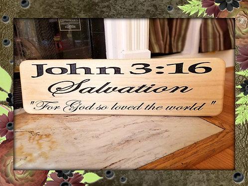 John 3:16 - For God So Loved the World - Salvation