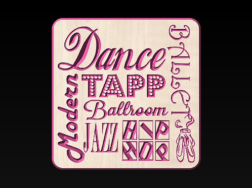 Dance Collage Art