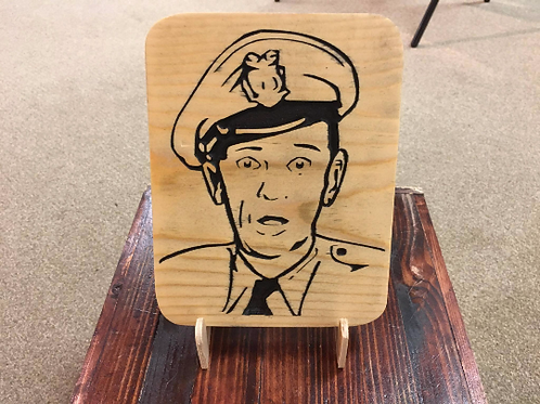 Barney (Andy Griffith) Plaque