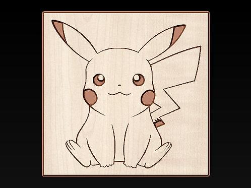 Pokemon Go - Pikachu Plaque