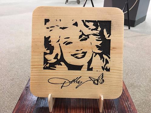 Dolly Parton Signature Plaque