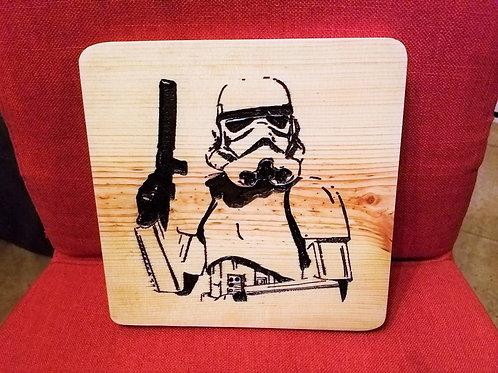 Star Wars Storm Trooper Plaque