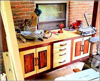 Custom Built Work Cabinet