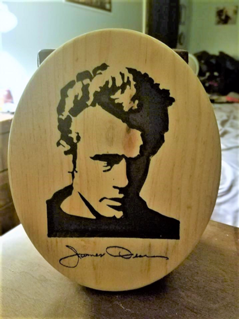 James Dean Plaque
