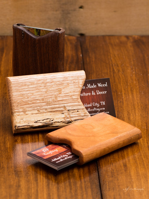 Wooden Wallet/Credit Card/Business Card Case