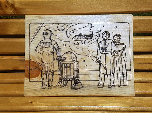 Star Wars: Empire Strikes Back Picture/Sign/Plaque