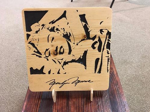 Marilyn Monroe Signature Plaque