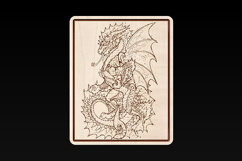 Chinese Dragon Picture/Sign/Plaque