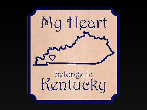My Heart Belongs in Kentucky