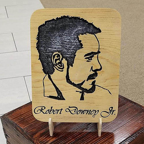 Robert Downey, Jr. Engraved Plaque