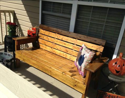 Full length bench