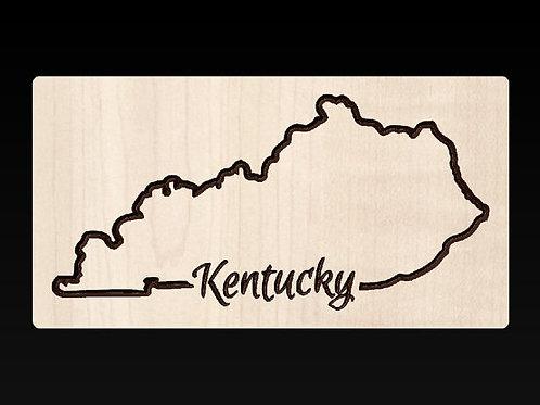 Kentucky State Plaque