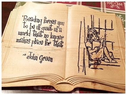 Book Plaque